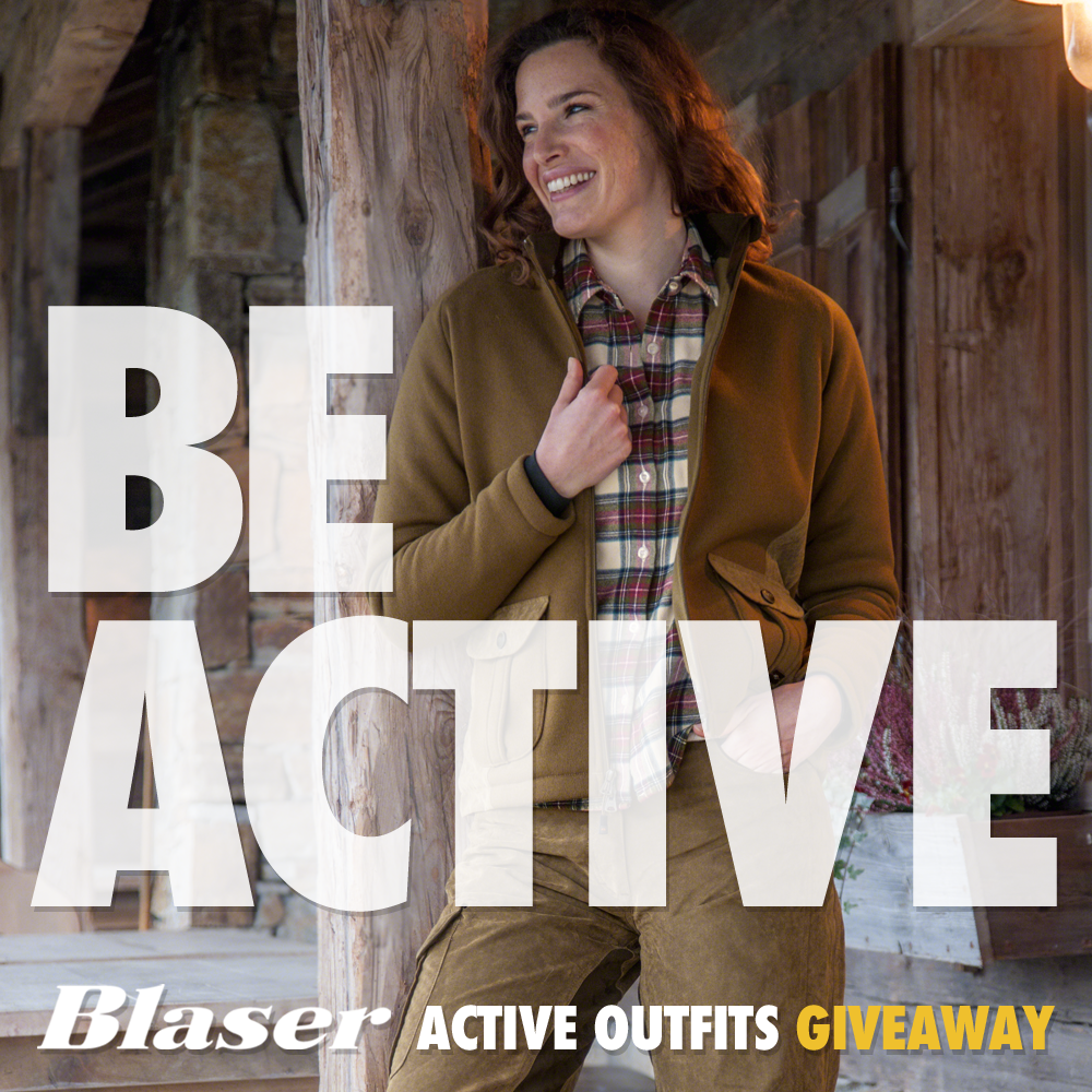 Blaser #BeActive Campaign