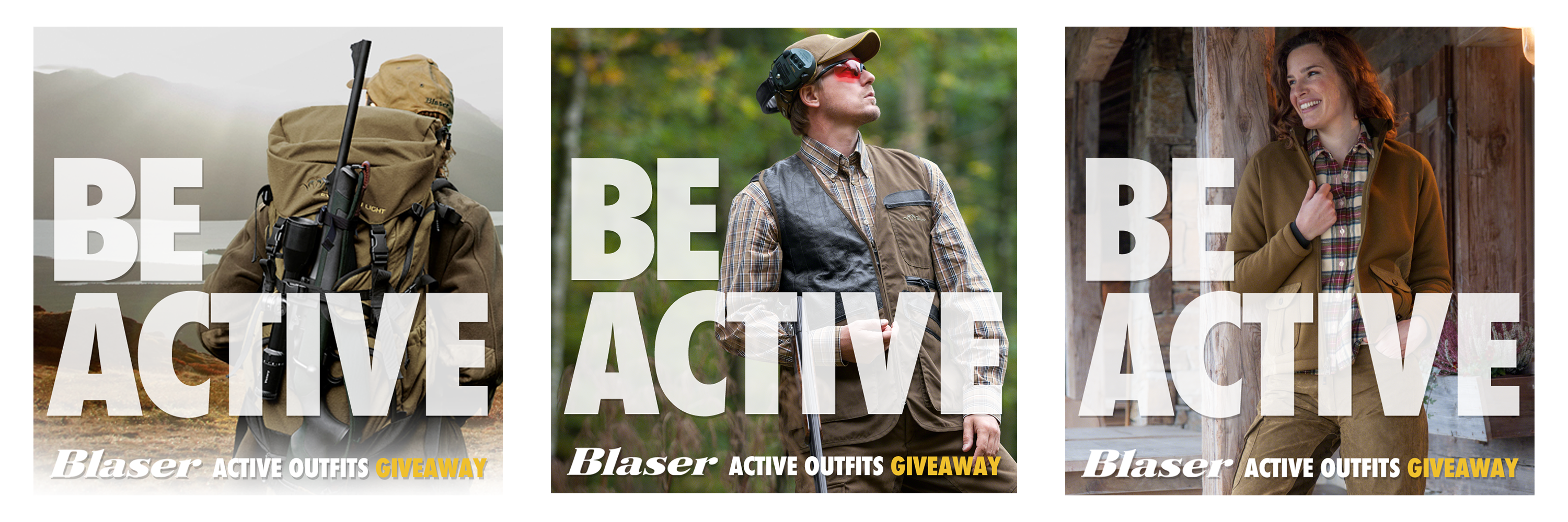 Blaser Encourages You to #BeActive